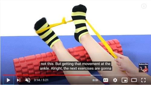 กายภาพข้อเท้าพลิก