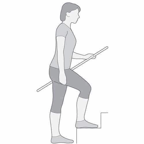 ฝึกกายภาพเข่าเสื่อม