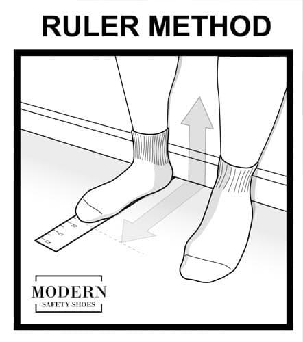 นิ้วโป้งเท้าเอียงเลือกรองเท้า