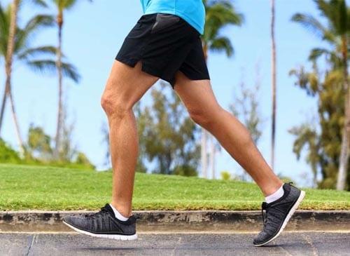 กระดูกเท้างอก วิ่ง